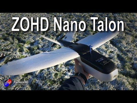 RC Reviews: ZOHD Nano Talon FPV Plane - UCp1vASX-fg959vRc1xowqpw