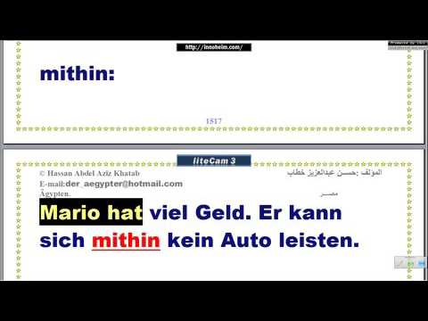 Lektion296 konsekutive Konnektoren أدوات الوصل – تعليم اللغة الألمانية
