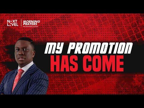 Next Level Prayers  My Promotion Has Come  Pst Bolaji Idowu  21st October 2021