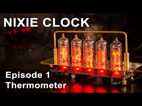 Cronixie - The eye-catching edge-lit clock kit that inspired the