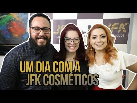 UM DIA COM A JFK COSMÉTICOS | ‹Robson Santos›