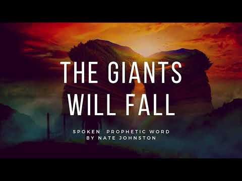 SPOKEN PROPHETIC WORD // THE GIANTS WILL FALL!