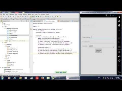 كورس برمجة تطبيقات الاندرويد  13 Spinner getSelectedView