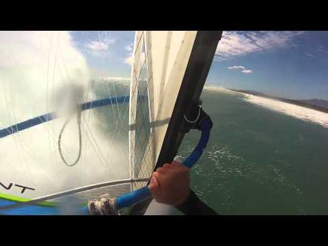 Windsurfing New Zealand 2014 with GoPro HD