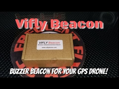 Vifly Beacon - Wireless Drone Buzzer And Anti-Theft After Crash Alarm - UCNUx9bQyEI0k6CQpo4TaNAw