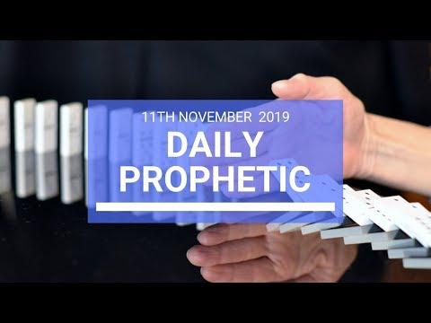 Daily Prophetic 11  November Word 2