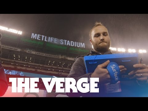 Hands-on with the NFL's Surface Pro 2 tablets - UCddiUEpeqJcYeBxX1IVBKvQ