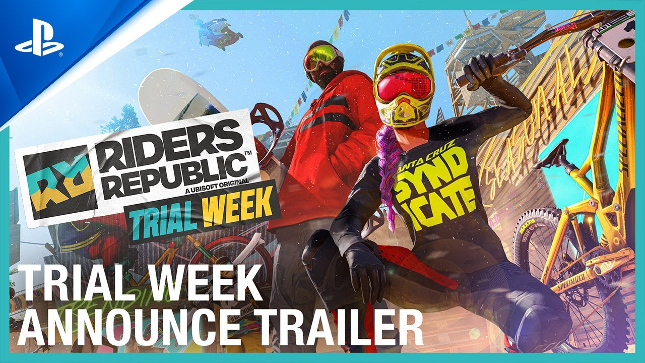 Riders Republic – Trial Week Trailer | PS5, PS4