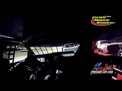 #2B Brian Cox - Pure Stock - 6-19-2021 Central Missouri Speedway - In Car Camera - dirt track racing video image