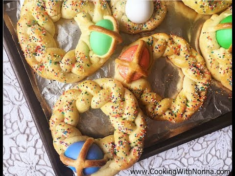 Easter Bread  - Rossella's Cooking with Nonna - UCUNbyK9nkRe0hF-ShtRbEGw