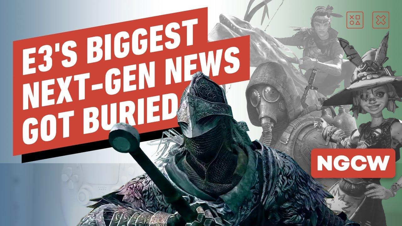 E3's Biggest Next-gen News Got Buried – Next-Gen Console Watch
