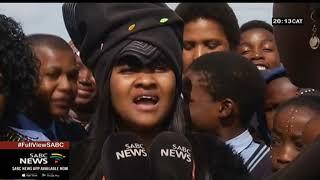 Miss SA 2019 Zozibini Tunzi visits hometown