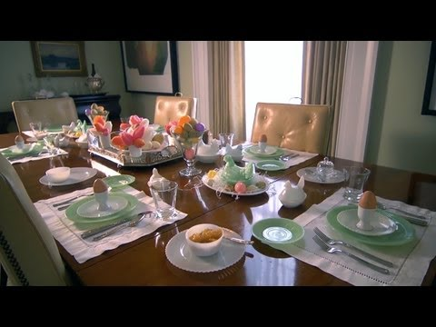 Easter Table Setting   At Home With P. Allen Smith - UCDgr7nAbzYCkWxTsSJFcoGg