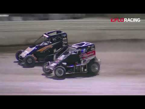Another first time USAC Western States Midget winner at the ultra racey Merced Speedway. Catch the highlights here!  Watch the full event replay at FloRacing.com. - dirt track racing video image