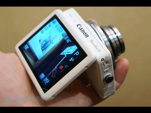 Canon PowerShot N hands-on | Engadget At CES 2013 - UC-6OW5aJYBFM33zXQlBKPNA