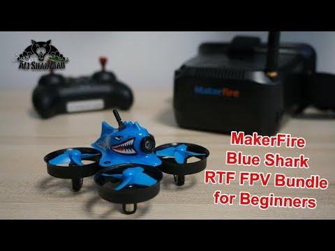 FPV Whoop For Beginners MakerFire Blue Shark - UCsFctXdFnbeoKpLefdEloEQ