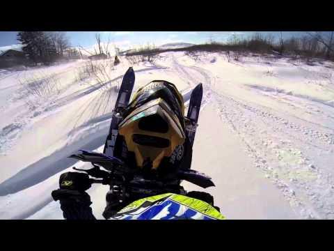 Snowmobile river run ends bad - UCxRkWzml2ckYcmSAJ1gK4ag
