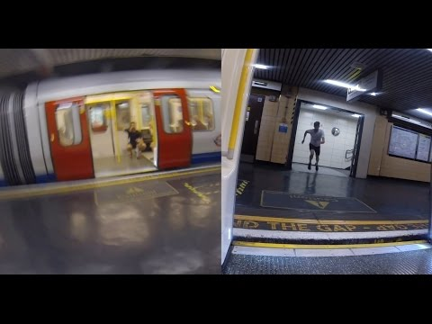 Race The Tube - Sprint (Split Screen)