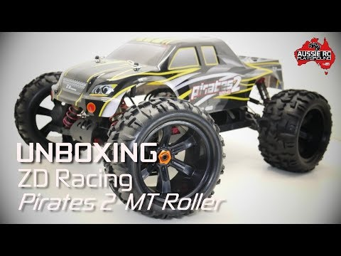 Unboxing: ZD Racing 9116 Pirates 2 Monster Truck Roller - UCOfR0NE5V7IHhMABstt11kA
