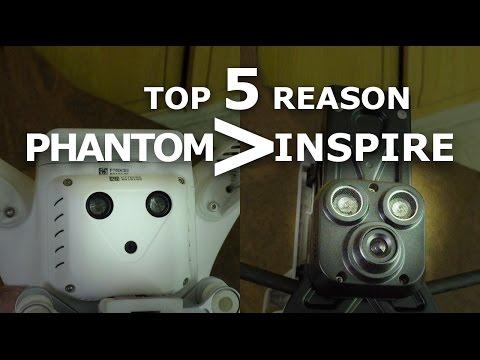 Top 5 Reasons DJI Phantom better than DJI Inspire   Phantom vs Inspire - UCSLU76XhyXr8hRuohlX19lw