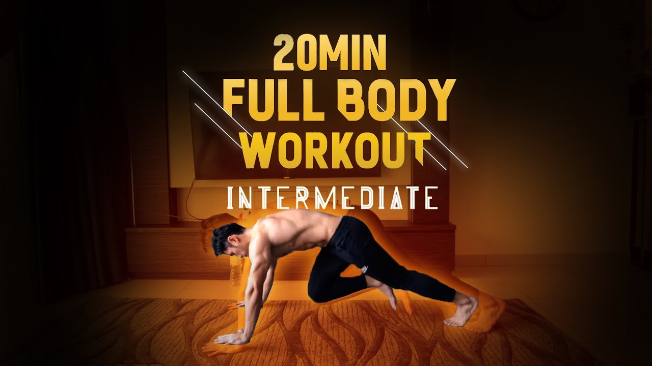 [Level 3] 20 Minute Fat Burning Workout