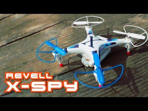 Revell X-Spy // RC Quadrocopter mit FPV Kamera - Testbericht und Testflug - UCR_BZ55IiaSYeL85me45nMg