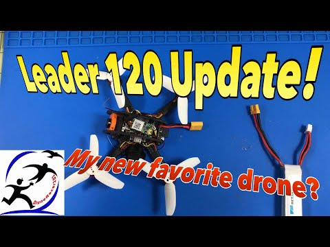 Leader 120 drone updates.  It's spectacular with just a few changes - UCzuKp01-3GrlkohHo664aoA