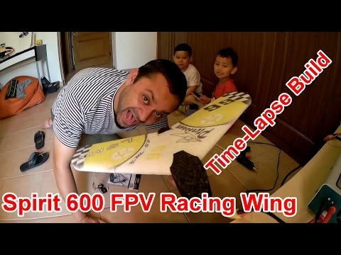 Spirit 600 Mini FPV Flying Wing Time-Lapse Build - UCsFctXdFnbeoKpLefdEloEQ