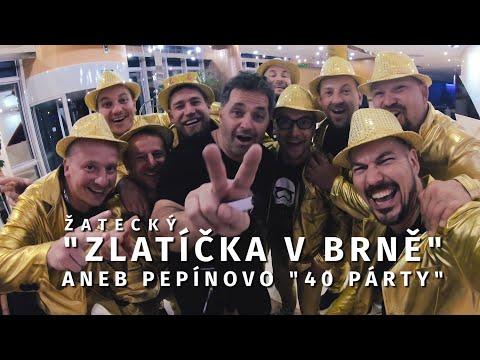 """Žatecký """"Zlatíčka"""" v Brně aneb oslava Pepího """"40"""" :)"""