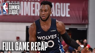 CAVALIERS vs TIMBERWOLVES | Balanced Effort Leads MIN | MGM Resorts NBA Summer League