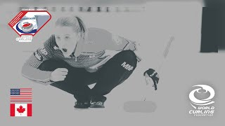 Semi-final - World Mixed Doubles Curling Championship 2019