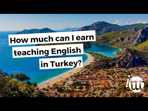 video on how much you can earn working as a TEFL teacher in Turkey