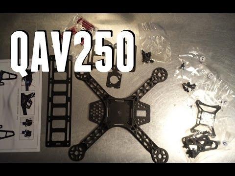 Diatone FPV250 Unboxing and Assembly (formerly QAV250) - UCKy1dAqELo0zrOtPkf0eTMw