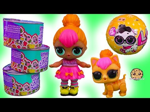 LOL Cat Food Surprise ! Littlest Pet Shop Blind Bags + LOL Surprise Pets - UCelMeixAOTs2OQAAi9wU8-g