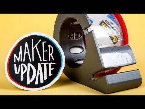 Maker Update: Dot Matrix - UChtY6O8Ahw2cz05PS2GhUbg