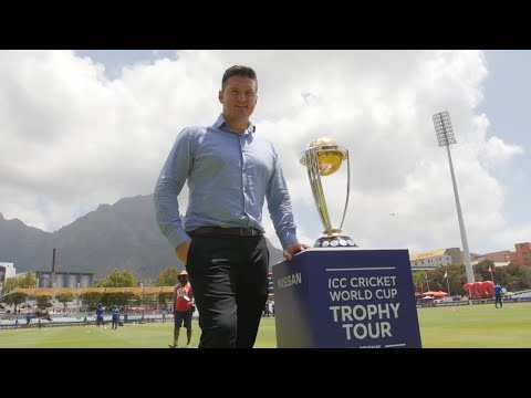 The CWC Trophy Tour, driven by Nissan, reaches Cape Town!