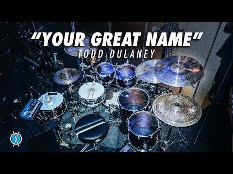 Your Great Name Drum Cover // Todd Dulaney // Daniel Bernard