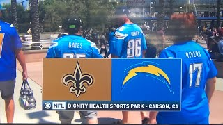 "NFL on CBS ""Saints vs. Chargers"" preseason cold open August 18, 2019"