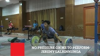 No Pressure On Me To Perform - Jeremy Lalrinnunga