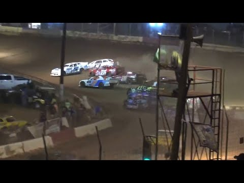 Street Stock at Cherokee Speedway October 2nd 2021 - dirt track racing video image