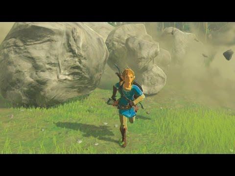Legend of Zelda: Breath of the Wild - Taking On a Giant Rock Boss - UCKy1dAqELo0zrOtPkf0eTMw