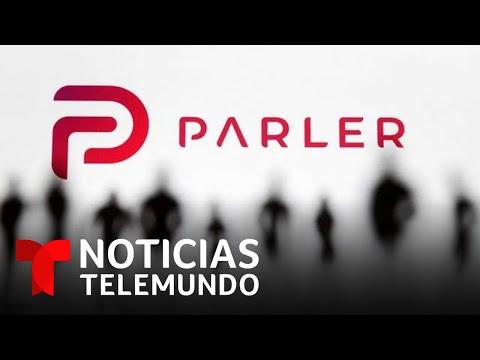 La red social Parler presenta demanda contra Amazon   Noticias Telemundo