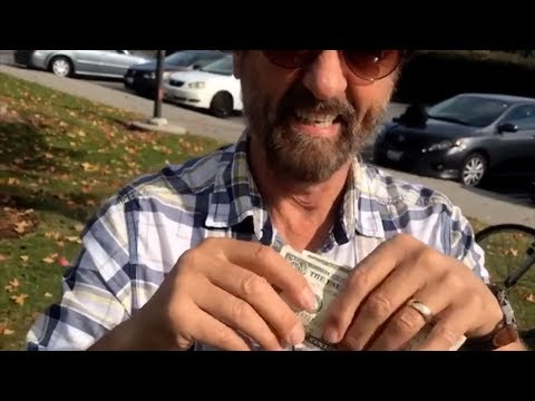 Ray Comfort does...a magic trick?!