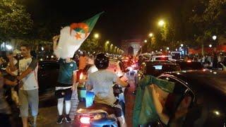Algeria supporter celebrate in good spirit despite scuffles   AFP