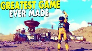 [LIVE🔴] NEW UPDATE ON BEST GAME EVER MADE - Building Space Base   No Man's Sky Gameplay