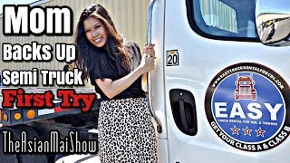 Class A CDL Skills Test Straight Line Backing, Offset, Alley Dock | Theasianmaishow