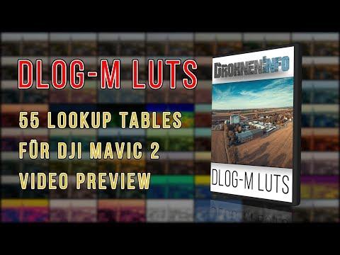 [DI] Preview DLOG-M Lookup Tables (LUT) für DJI Mavic 2 - UCfV5mhM2jKIUGaz1HQqwx7A