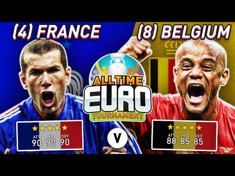 France All-Time XI vs Belgium All-Time XI | FIFA 20 All-Time EURO FINAL!