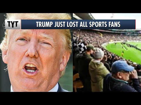 Trump INFURIATES All Sports Fans After This Photo