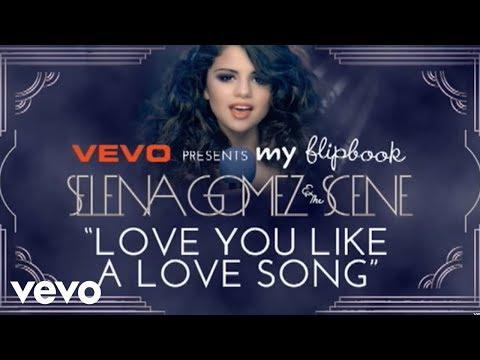 Selena Gomez & The Scene - Love You Like A Love Song (Lyric Video) - selenagomezvevo